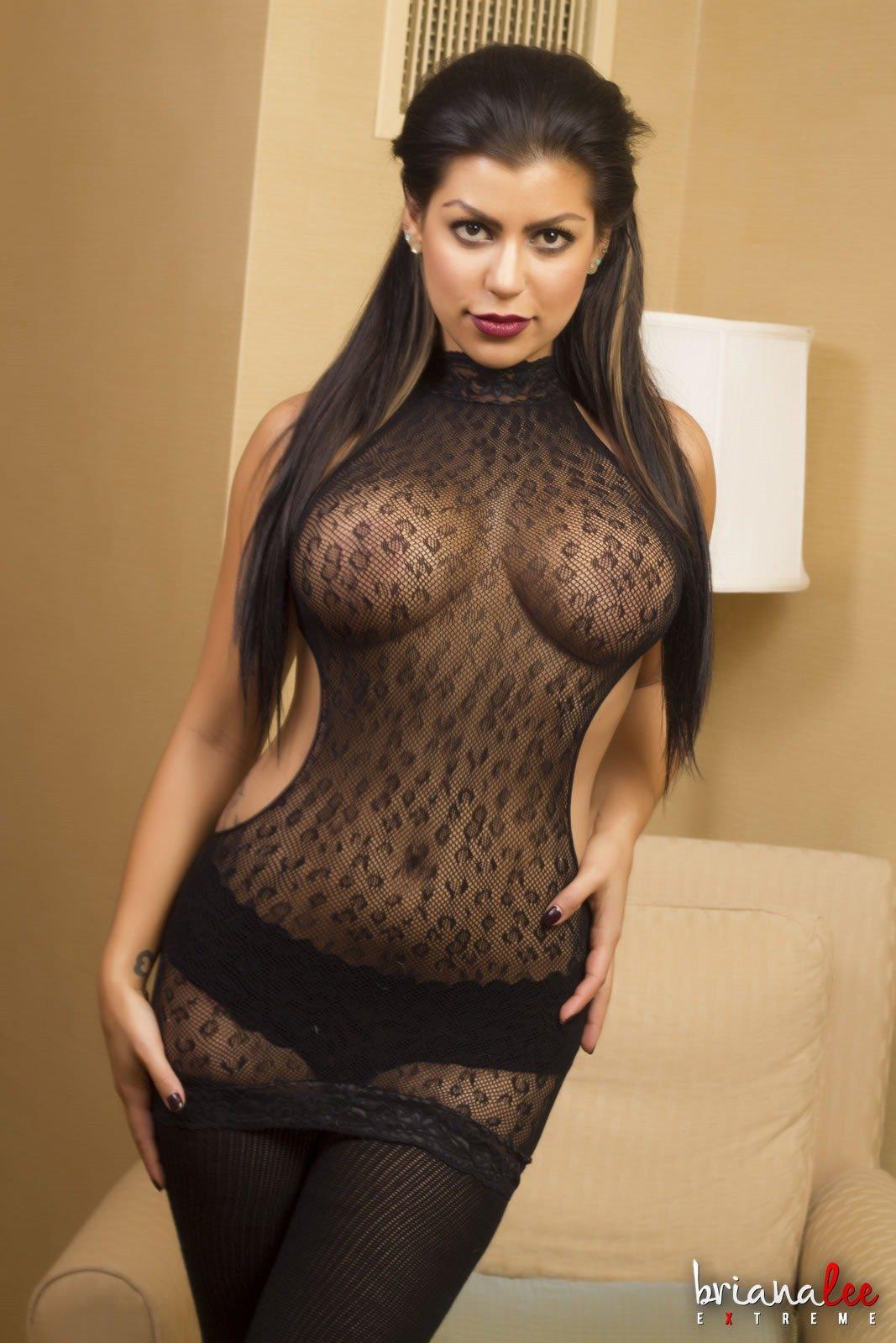 Briana lee hd Briana Lee Extreme Sexy Teen Stockings